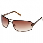 Steve Madden S961 Designer Metal Frame Sunglasses - Brown