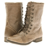 Steve Madden Troopa  Boots - Stone Leather