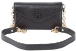 Tory Burch Stacked Envelope Crossbody Clutch-Black