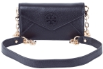 Tory Burch Stacked Envelope Crossbody Clutch-Navy