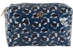 Tory Burch Brigitte Cosmetic Case-Floral Blue
