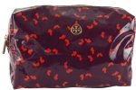 Tory Burch Brigitte Cosmetic Case-Violet