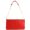 Tory Burch Bombe Reva Clutch Bag- Red