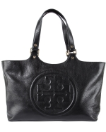 Tory Burch Bombe Burch Tote- Black