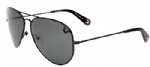 True Religion Jeff Aviator Sunglasses - Black