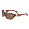True Religion Shane Sunglasses - Blonde