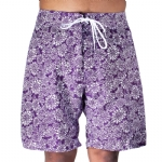 Trunks Men's Salty Board Short - Lotus Blossom