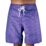 Trunks Men's Salty Board Short - Lotus Swirls