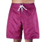 Trunks Men's Salty Board Short - Lotus Triangles
