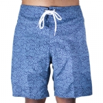 Trunks Men's Salty Board Short - Navy Swirls