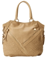 Big Buddha Winona Satchel Bag- Sand