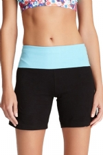 New Balance Fold Over Shorts - Black/Bachelor