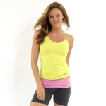 New Balance Camisole Undershirt- Lime