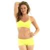 New Balance T Shirt Bra - Lime
