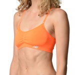 New Balance T Shirt Bra - Shocking Orange