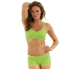 New Balance T Shirt Bra - Green