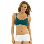New Balance T Shirt Bra - Majolica Blue