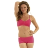 New Balance T Shirt Bra - Very Berry