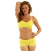 New Balance T Shirt Bra - Yellow
