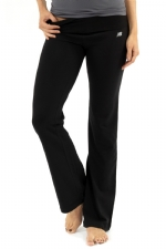 New Balance Fold Over Lounge Pants - Black