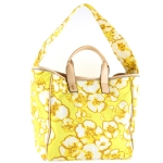 Juicy Couture Beach Tie Dye Floral Tote-Yellow