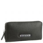 Juicy Couture Leather Light and Airy Continental Wallet-Black