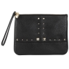 Juicy Couture  Leather Wristlet - Black