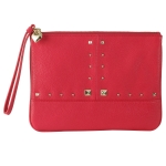 Juicy Couture  Leather Wristlet - Pink