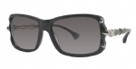 Affliction ZIVANA Sunglasses - Black Silver