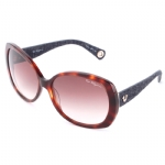 True Religion Trava Sunglasses - Amber Tort