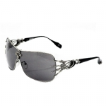 Affliction Blade Sunglasses - Gun/Black