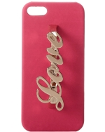 Steve Madden Be Blove Iphone 5 Case-Fuchsia