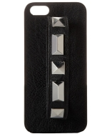 Steve Madden Studded Knuckle Iphone 5 Case-Black