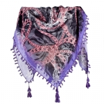 Christian Audigier Rope and Chains 40x40 Scarf - Pink