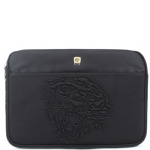 Ed Hardy Tiger Embossed Computer Case - Black
