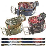 Ed Hardy EH1382 Mens Grenade Leather Belt