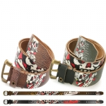 Ed Hardy EH1389 Mens Piracy Leather Belt