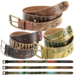 Ed Hardy EH1425 Mens Combat Leather Belt