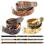Ed Hardy EH1427 Mens Airborne Leather Belt
