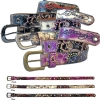 Ed Hardy EH3285 Desert Rose-Kids Girls-Leather Belt