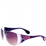 Ed Hardy Mum Lola Sunglasses- Purple