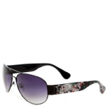 Ed Hardy The Gambler Zeke Sunglasses- Black