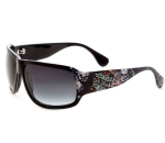 Ed Hardy Las Vegas Rock Sunglasses- Black