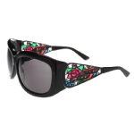Ed Hardy EHT-901 Sunglasses - Black