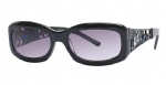 Ed Hardy EHT-906 Sunglasses - Black