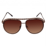 Jessica Simpson J472 Designer Sunglasses - Brown/Gold