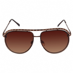 Jessica Simpson J472 Designer Sunglasses - Brown/Gold - The Jessica Simpson J472 Designer Sunglasses -Brown/Gold is a beautiful fashionable sunglasses designed by Jessica Simpson under the JS brand. The Jessica Simpson designer sunglasses has a stylish�Metal frames and arms and features Brand name detail at temple. Riveted metal band across top of frame adds glamour. New 2011 Release.