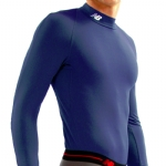 New Balance Thermal Compression Mock Long Sleeve - Royal Blue