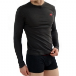 New Balance Baby Thermal Shirt - Charcoal