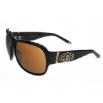 Affliction Raven Sunglasses - Black/ Gold